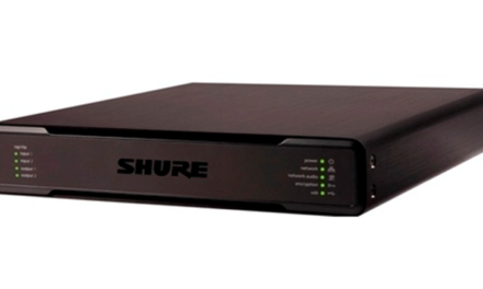 Shure Intellimix® p300 audio conferencing processor
