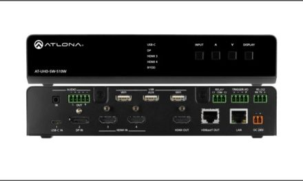 Atlona unleashes BYOD-Empowering Multi-Format Switcher