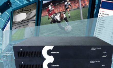 ClearOne streamlines VIEW Pro network streaming systems set-up and configuration