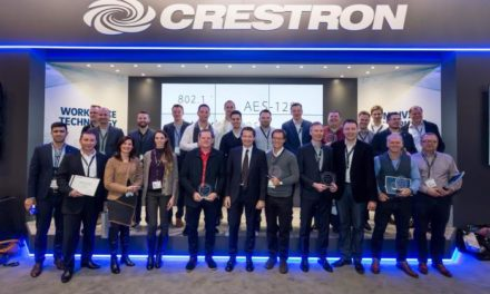 Celebrating excellence with Crestron
