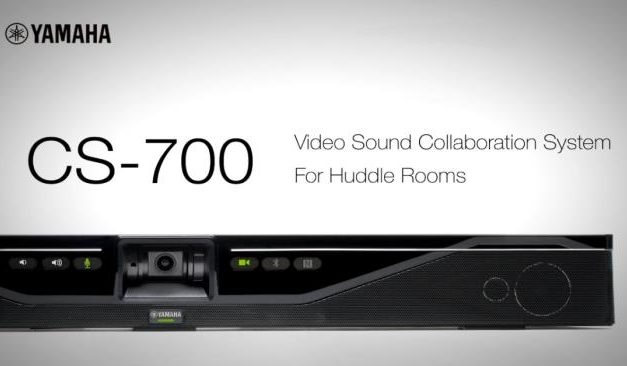"Independent analysts praise Yamaha CS-700 as ""Huddle Room Powerhouse'"