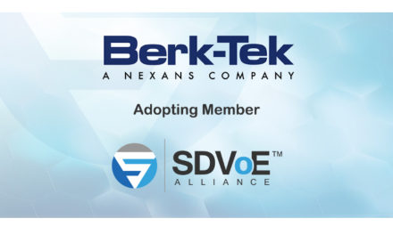 Berk-Tek joins SDVoE Alliance