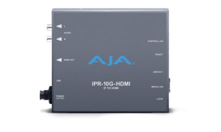 AJA announces new HDR Image Analyzer and solutions supporting SMPTE