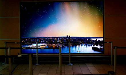 NanoLumens® deploy interactive installation at Vancouver International Airport