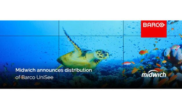 Barco's revolutionary LCD video wall platform wins Red Dot