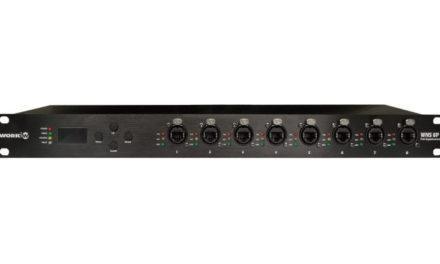 Work Pro unveils dedicated PoE-enabled 8-port AV switch