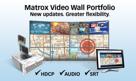 Matrox announces major updates video wall portfolio