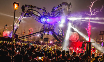 NRG takes on Arcadia Spectacular's Spider