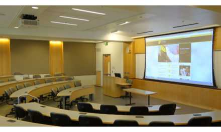 Panasonic projectors provide a visual system solution for classrooms