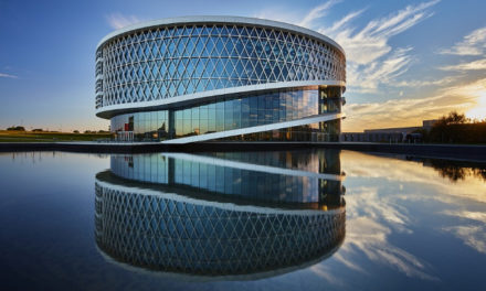 Barco develops a future-focused factory