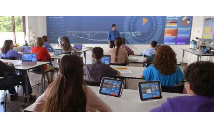 Vivitek NovoTouch interactive screen enables a new approach to teaching