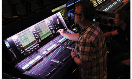 The Script is in good hands with FOH engineer, Stephen Pattison