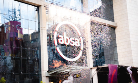 Africa's first live drone light show to mark the relaunch of ABSA