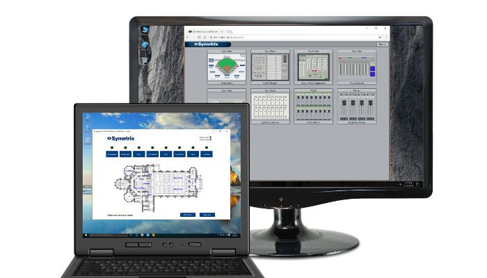 Symetrix announces the release of SymVue for Control Server