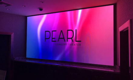 NanoLumens ENGAGE Series display puts the spotlight on the Pearl Theater's Top Tier Entertainers.