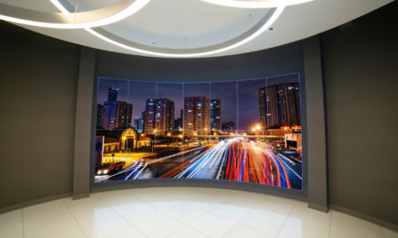 Advanced expertly handles a curveball with a dazzling display installation for logistics firm lobby
