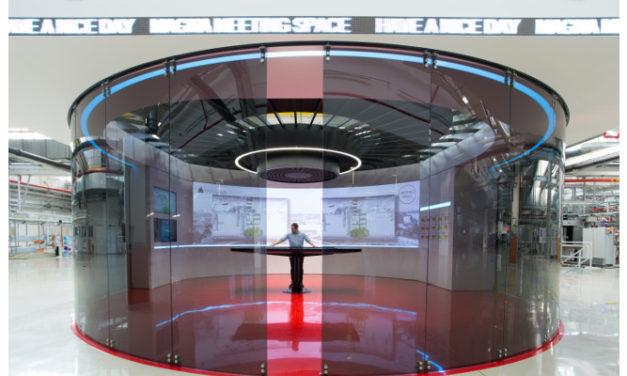 Digital Projection laser helps drive Magna Steyr