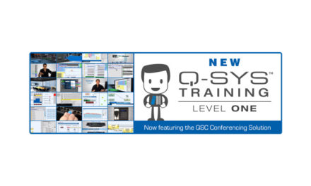 QSC introduces new Q-SYS control training series