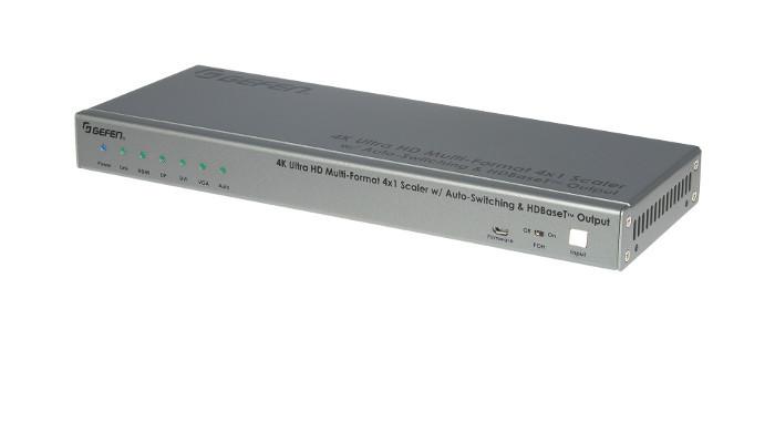 Gefen now shipping new 4K Ultra HD scaler/switcher