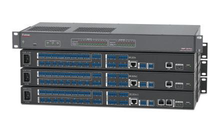 Extron's new functionality for DMP 128 Plus Digital Matrix Processors