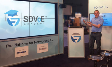 SDVoE Academy online learning platform launches