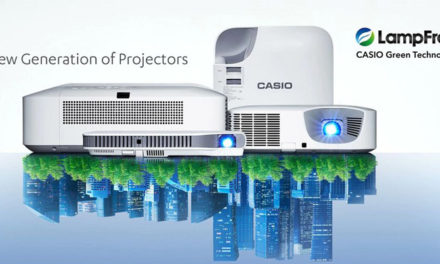 CASIO LAMPFREE PROJECTOR WINS FIRST PLACE
