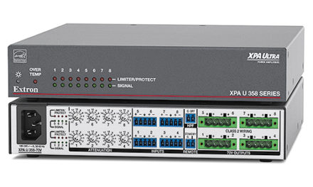 New Extron XPA Ultra amplifiers