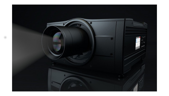 Barco's new true solid-state projector