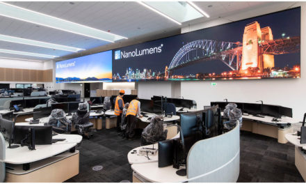 NanoLumens for Sydney Trains Rail Operations Centre