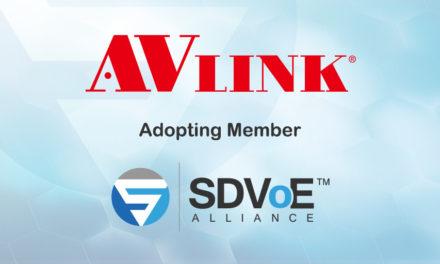 AV LINK Joins SDVoE Alliance
