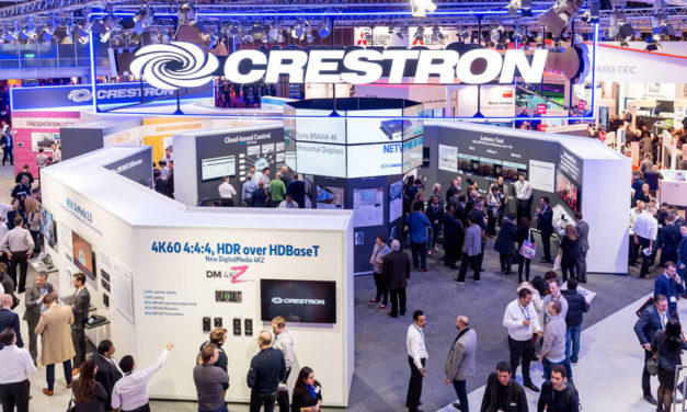 CRESTRON DEMONSTRATES TECHNOLOGY FOR EVERY SPACE AT ISE