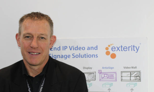 EXTERITY SHOWCASES EXPANDED PORTFOLIO AT ISE