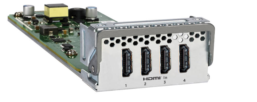 WORLD'S FIRST ETHERNET SWITCH WITH INTEGRATED HDMI