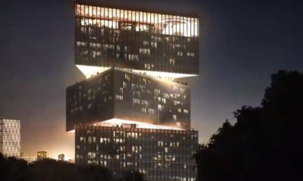 ISE PROJECTION MAPPING AT THE nhow AMSTERDAM RAI HOTEL