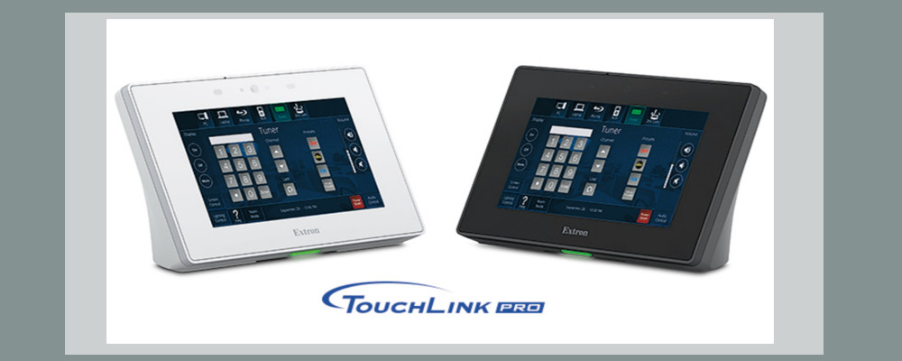 NEW EXTRON TOUCHPANEL