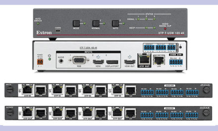 EXTRON NOW SHIPPING XTP I/O BOARDS