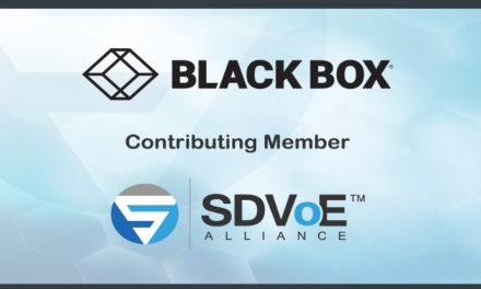 BLACK BOX BECOMES CONTRIBUTING MEMBER OF SDVOE ALLIANCE