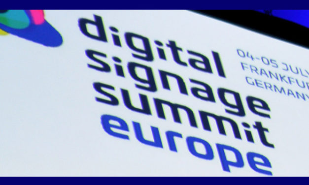 THE DIGITAL SIGNAGE SUMMIT 2019