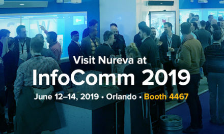 NUREVA COLLABORATION SOLUTIONS AT INFOCOMM 2019