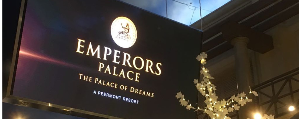A SIGN OF THE FUTURE AT EMPERORS PALACE
