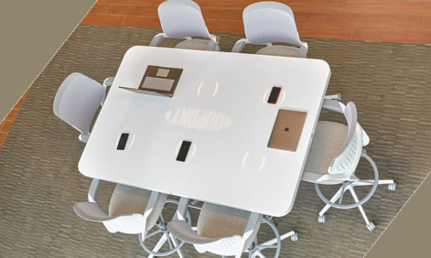 DUPONT UNVEILS SMART CONFERENCE TABLE
