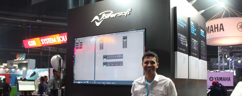 POWERSOFT DEMONSTRATES MEZZO AMPLIFIER PLATFORM