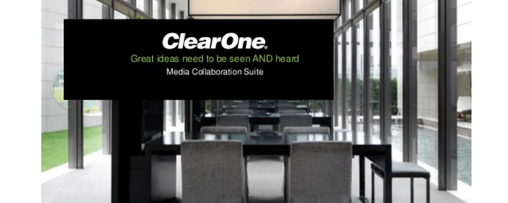 CLEARONE PARTNERS WITH ALMO PROFESSIONAL AV IN THE USA