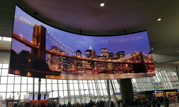 JFK INTERNATIONAL AIRPORT TAKES FLIGHT WITH LED TECHNOLOGY