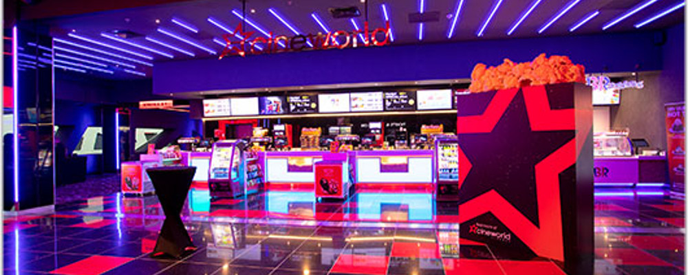 CINEWORLD EASTBOURNE BECOME EUROPE'S FIRST ALL-RGB LASER CINEPLEX