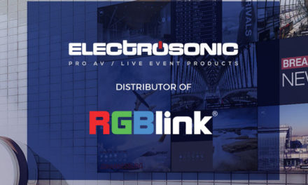 ELECTROSONIC TO DISTRIBUTE RGBLINK