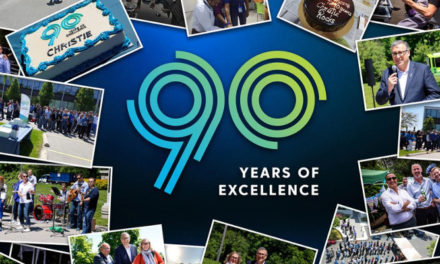 CHRISTIE CELEBRATES NINETY YEARS OF PROJECTION