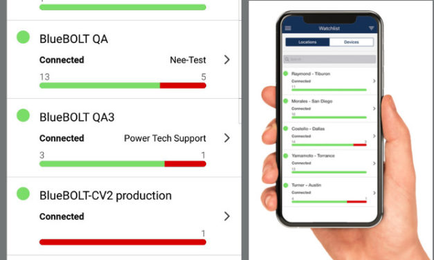 BLUEBOLT ADDS MOBILE APP TO ELEVATE IP POWER MANAGEMENT