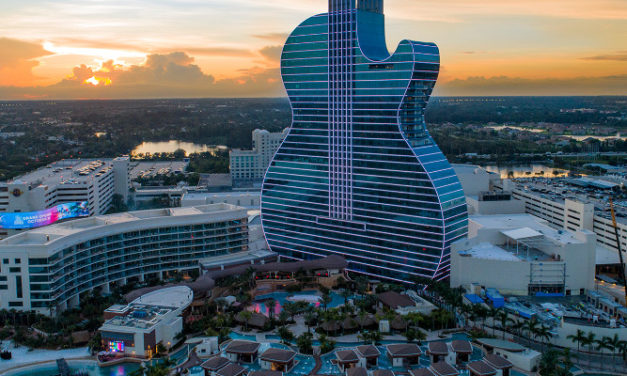 GUITAR-SHAPED HOTEL COMES TO LIFE WITH REALMOTION