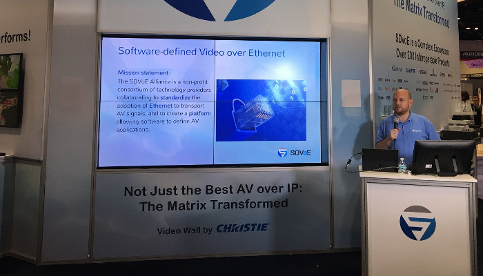 EUROPEAN DEBUT OF CROWD-PLEASING SDVoE 20/20 IN-BOOTH EDUCATION AT ISE 2020